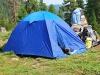 Палатки вокруг Метеостанции
