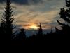 Закат на метеостанции Хамар-Дабан