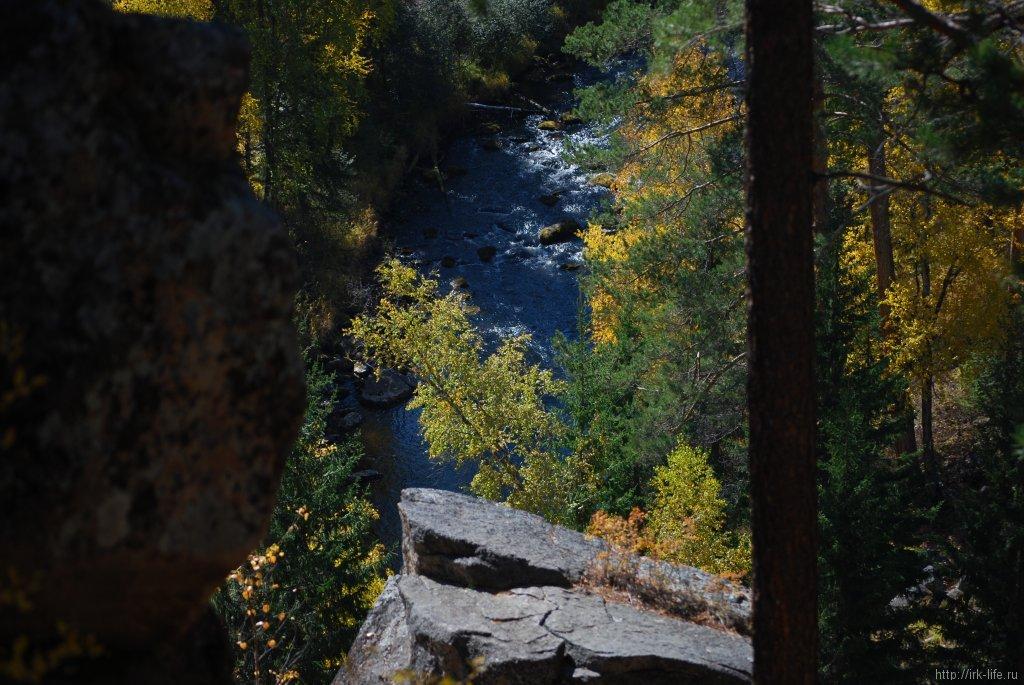 Река Большая олха, со скалы Витязь